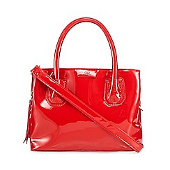 The Collection - Red patent small grab bag