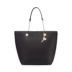 Floozie by Frost French - Black heart detail shopper