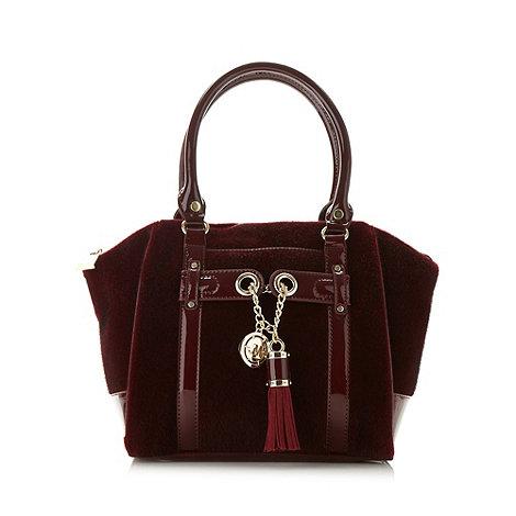 Star by Julien Macdonald - Designer burgundy tote bag