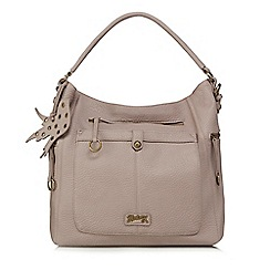 Mantaray - Light purple ring zip hobo bag