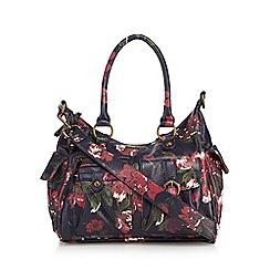 Mantaray - Multi-coloured floral print shoulder bag