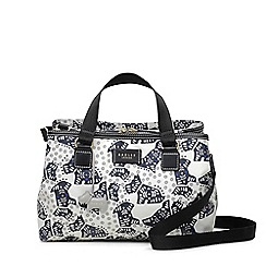 Radley - Folk dog ivory medium multi-compartment multiway bag