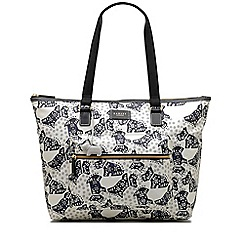 Radley - Folk dog ivory large workbag tote bag