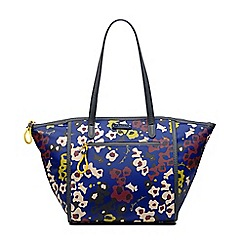 Radley - Roar blue large zip-top tote bag