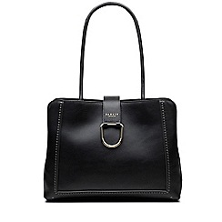 Radley - Primrose hill black large flapover matinee bag