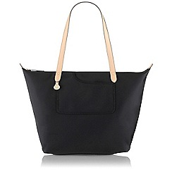 Radley - Pocket Essentials Black Large Zip-Top Tote