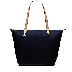 Radley - Pocket essentials navy large zip-top tote bag