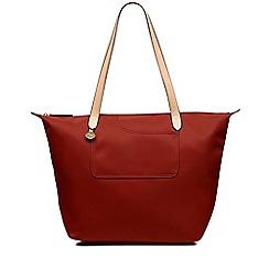 Radley - Pocket essentials red large zip-top tote bag