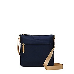 Radley - Pocket essentials navy small zip-top cross body bag