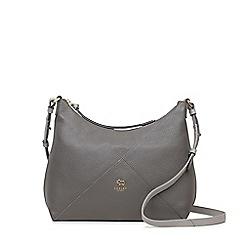 Radley - Oxleas grey medium zip-top cross body bag