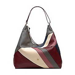 Radley - Oxleas grey large zip-top hobo bag