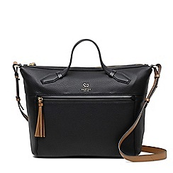 Radley - Postman's park black large zip-top multiway bag