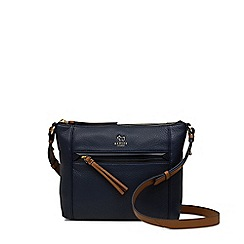 Radley - Postman's Park navy small zip-top cross body bag