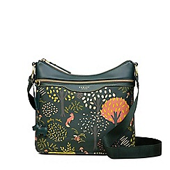 Radley - Epping forest green medium zip-top hobo bag
