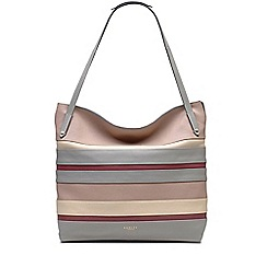 Radley - Loseley grey large zip-top tote bag