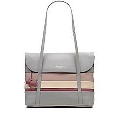 Radley - Loseley grey medium flapover tote bag