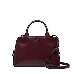 Radley - Millbank burgundy medium zip-top multiway bag