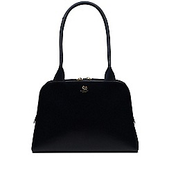 Radley - Millbank navy medium zip-top tote bag