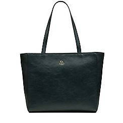Radley - Greyfriars gardens green large zip-top tote bag