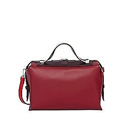 Fiorelli - Red fletcher boxy bowler bag