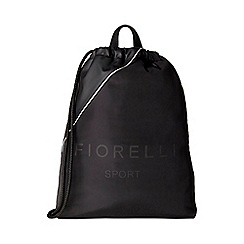 Fiorelli - Black sport elite drawstring backpack