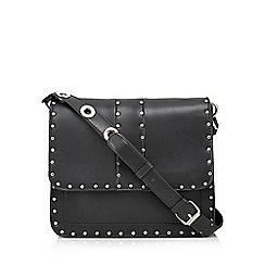 Faith - Black studded cross body bag