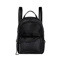 Juicy by Juicy Couture - Black 'Aspen' mini zippy backpack