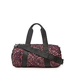 Red Herring - Multi-coloured quilted weekender bag