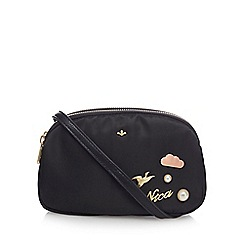 Nica - Black 'Miyah' mini crossbody bag