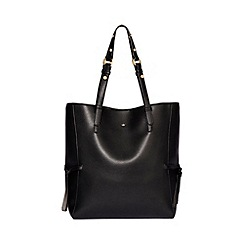 Nica - Black 'Yuka' large tote bag