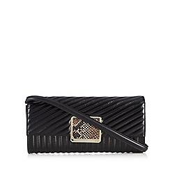 Cavalli Class - Black 'Celebrity' clutch bag
