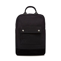 Mi-Pac - Black canvas tote back pack
