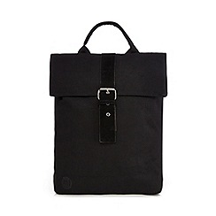 Mi-Pac - Black canvas day backpack