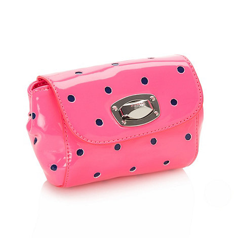 Fiorelli - Pink spotted mini cross body bag
