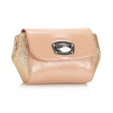 Fiorelli - Peach glitter mini cross body bag