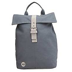 Mi-Pac - Grey canvas day backpack