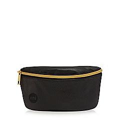 Mi-Pac - Black 'Tumbled' bum bag