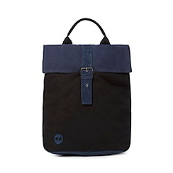 Mi-Pac - Black two-tone canvas backpack