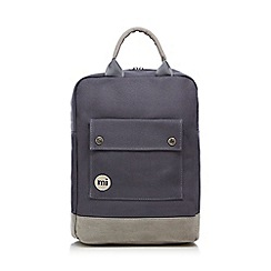 Mi-Pac - Grey canvas backpack