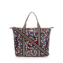 Kangol - Multi-coloured large floral print tote