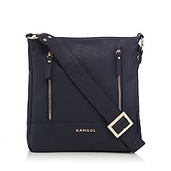 Kangol - Navy cross body bag