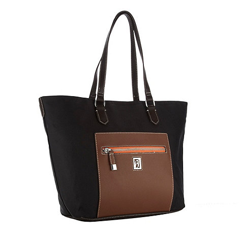 Principles by Ben de Lisi - Designer black nylon tote bag