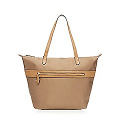 Kangol - Taupe large shoulder bag