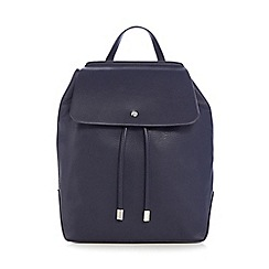 Clarks - Navy 'miss poopy' backpack