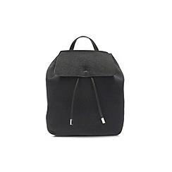 Clarks - Black Miss poppy backpack