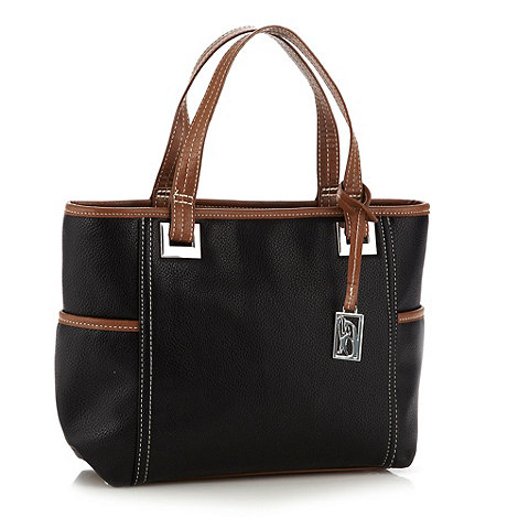 Principles by Ben de Lisi - Designer black eyelet grab bag
