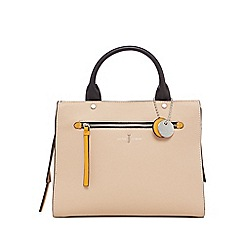 J by Jasper Conran - Light peach colour block large grab handle