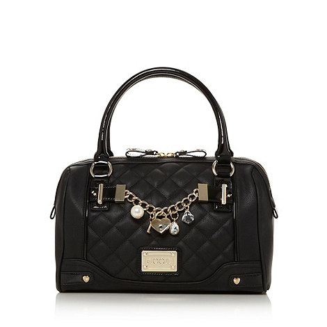 Floozie by Frost French - Black quilted charm grab bag