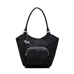 Radley - Shadow Roar Black Large Zip-Top Tote