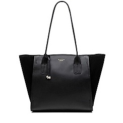 Radley - Tiverton Park black large zip-top tote bag